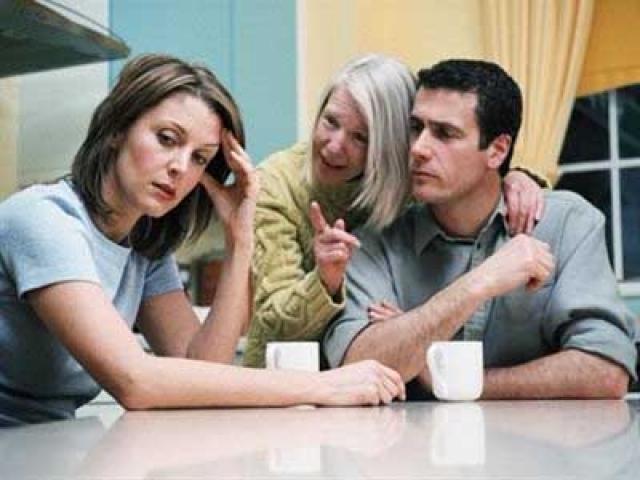 Ссоры с семьей мужа