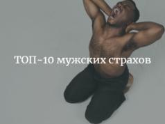 ТОП-10 мужских страхов